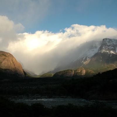 Lumières - Argentina Patagonia Fitz Roy Lago Electrico